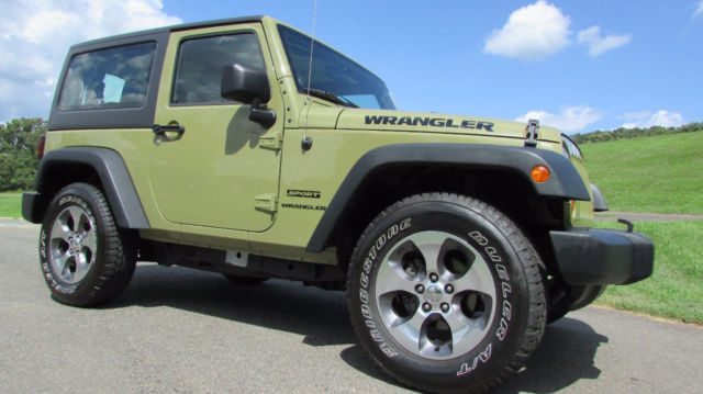 Jeep Wrangler 2013 Technical Specifications