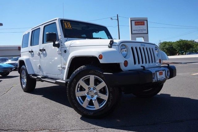 2013 Jeep Wrangler Unlimited Sahara Leather Navigation Hard Top
