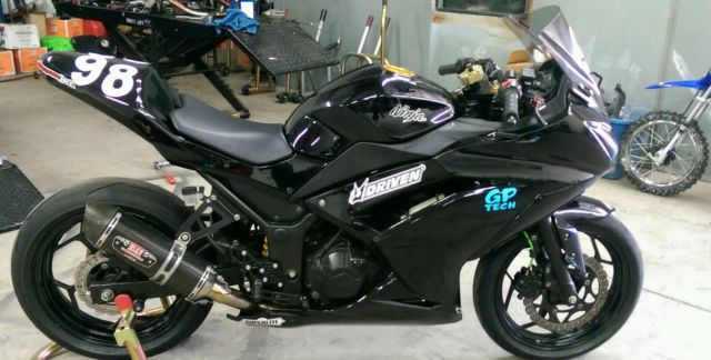 2013 Kawasaki Ninja 300 Race Track Bike Ohlins Scotts Race Tech