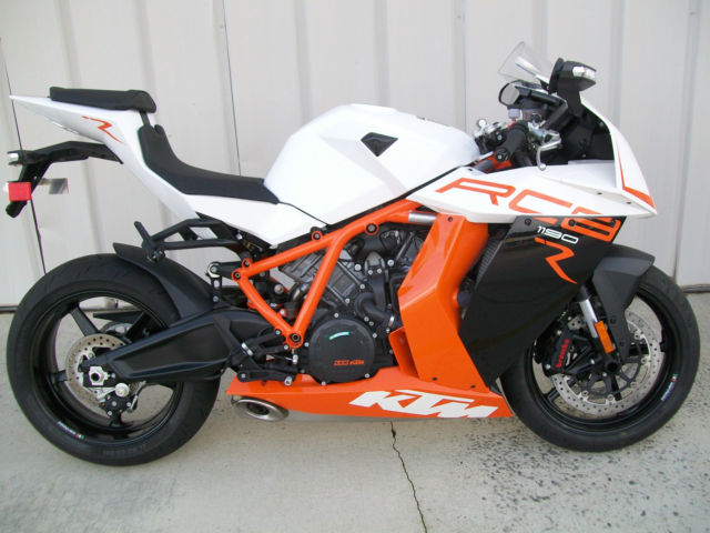 44374f1fc81df5 2013 KTM RC8R RC8 NEW EXCELLENT CONDITION WARRANTY SHIPPING SPORTBIKE