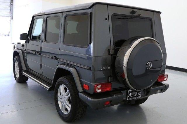2013 Mercedes-Benz G-Class G550 designo Graphite Metallic ...