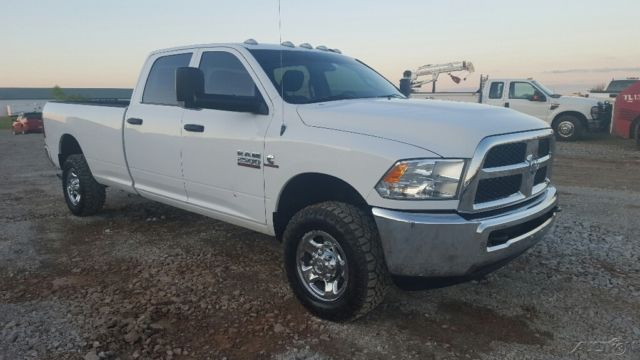 2013 ram 2500 tradesman crew cab long bed 4wd diesel pickup truck 4x4. Black Bedroom Furniture Sets. Home Design Ideas