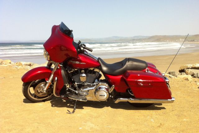 2013 Street Glide Flhx Ember Red Sunglo Color Matched
