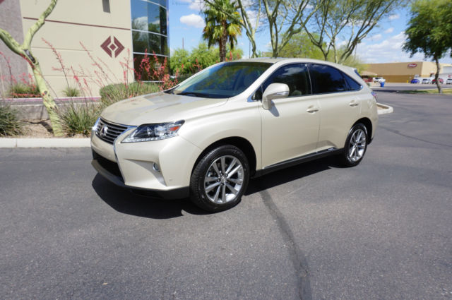 2013 Tan Hybrid Lexus Rx450h Only 45k Like 2008 2009 2010
