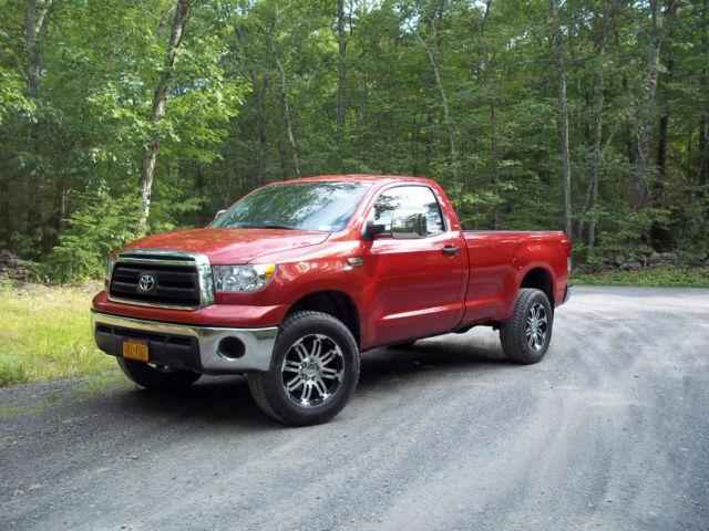 Toyota Tundra Towing Capacity >> 2013 Toyota Tundra 2 Door Lifted 4X4Custom Wheels Tires ...