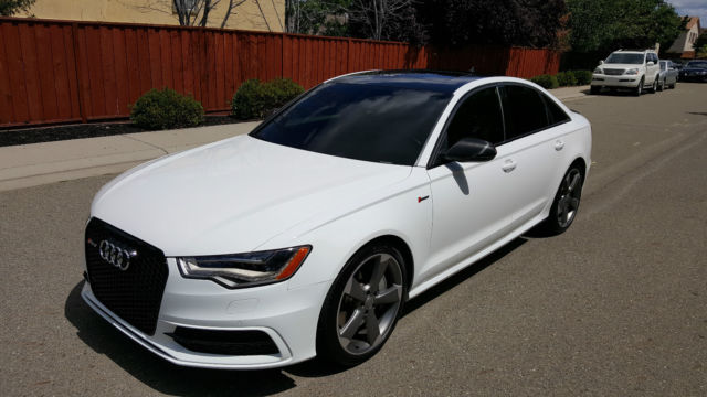 2014 audi a6 3 0t quattro prestige only 20k mi nav rs6. Black Bedroom Furniture Sets. Home Design Ideas