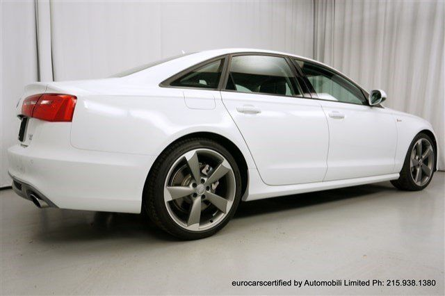 2014 Audi A6 Prestige S Line WARRANTY Black Optic 20 inch Sport