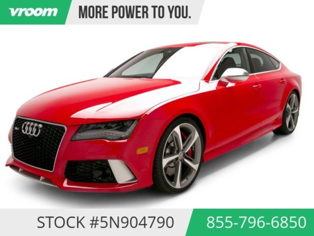 3k In Miles >> 2014 Audi Rs 7 Prestige 3k Miles Nav Sunroof Rearcam 1 Owner Clean