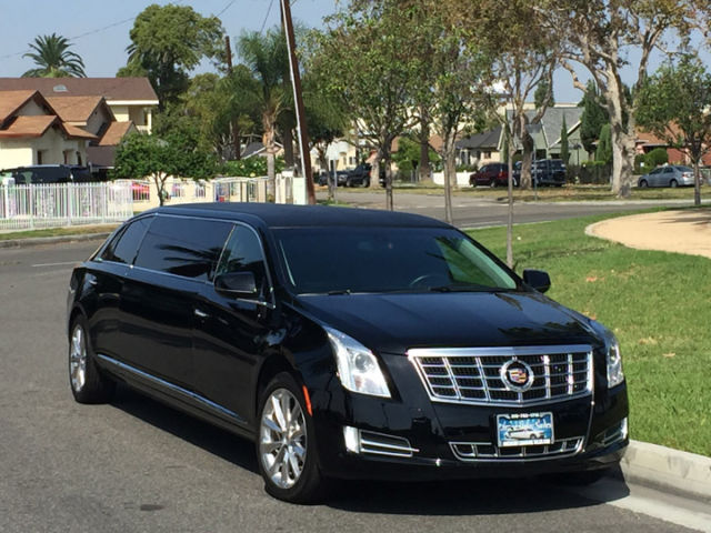 2014 black 70 inch cadillac xts limo for sale 613. Black Bedroom Furniture Sets. Home Design Ideas