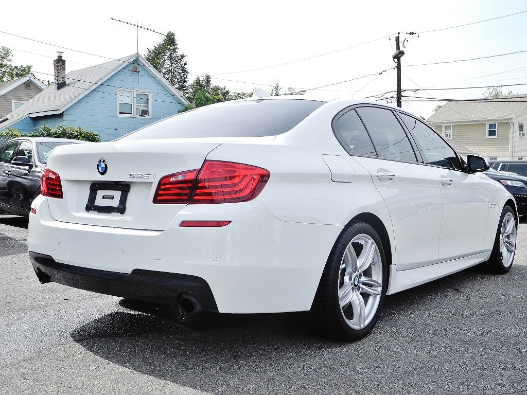 Bmw 535i Sport Package >> 2014 BMW 5 SERIES 535I M SPORT PKG 63883 Miles WHITE SEDAN 6 CYLINDER AUTOMATIC
