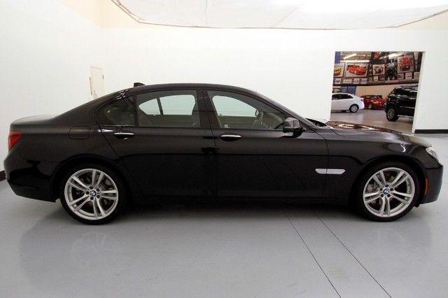 2014 BMW 750i Black Sapphire Metallic Navigation M Sport ...