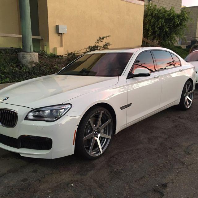 2014 BMW 750LI M SPORT