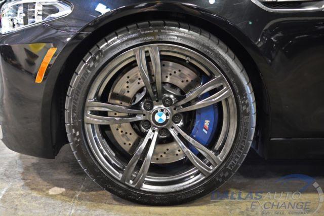 2014 Bmw M5 4dr Sdn Executive Pkg Black Chrome Wheels