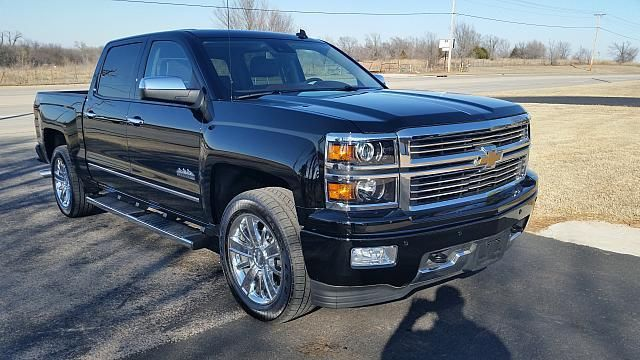 2014 chevy silverado 1500 high country 4x4 crew cab short bed leather loaded. Black Bedroom Furniture Sets. Home Design Ideas