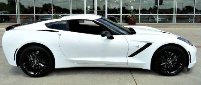2014 corvette stingray zr1 3lt coupe auto white 1860miles 2014 corvette white with red interior