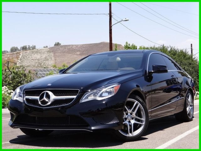 2014 e350 coupe one owner loaded with options sport package 18 amg wheels. Black Bedroom Furniture Sets. Home Design Ideas