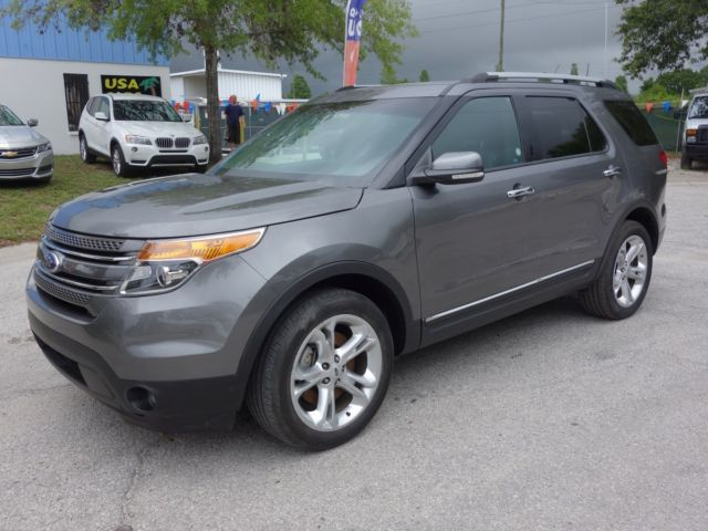 2014 Ford Explorer Limited 4wd 3 5l V6 Leather Heated