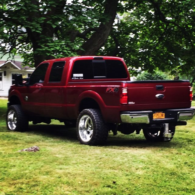 2014 Ford F-250 Lariat Powerstroke Diesel. American Force