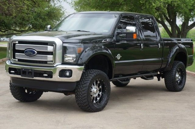 2014 ford f 250 super duty platinum 4x4 6 7l diesel custom lift 35 tires. Black Bedroom Furniture Sets. Home Design Ideas