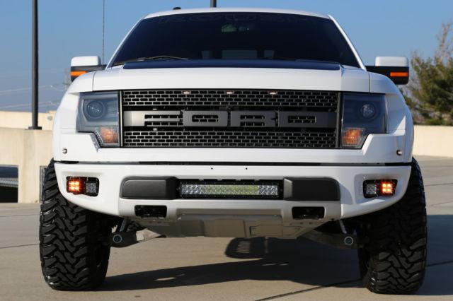 2014 Ford F150 Crew 4x4 Svt Roush Raptor Supercharged 2k