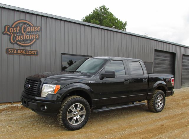 2014 ford f150 crew cab stx sport offroad 4x4 salvage theft recovery fx4. Black Bedroom Furniture Sets. Home Design Ideas