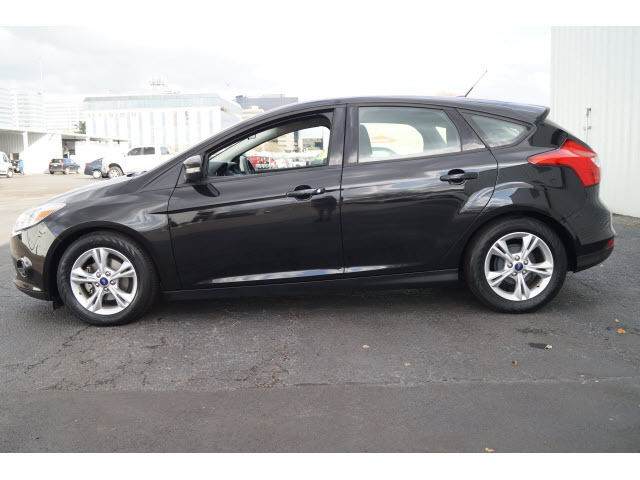 2014 Ford Focus SE Hatchback BLACK Automatic Flex Fuel