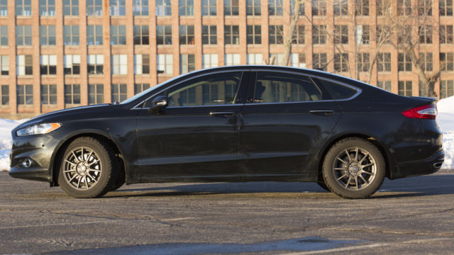 2014 Ford Fusion Tires >> 2014 Ford Fusion Titanium Fwd W 4 New Snow Tires Wheels