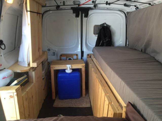 2014 ford transit connect custom camper van. Black Bedroom Furniture Sets. Home Design Ideas