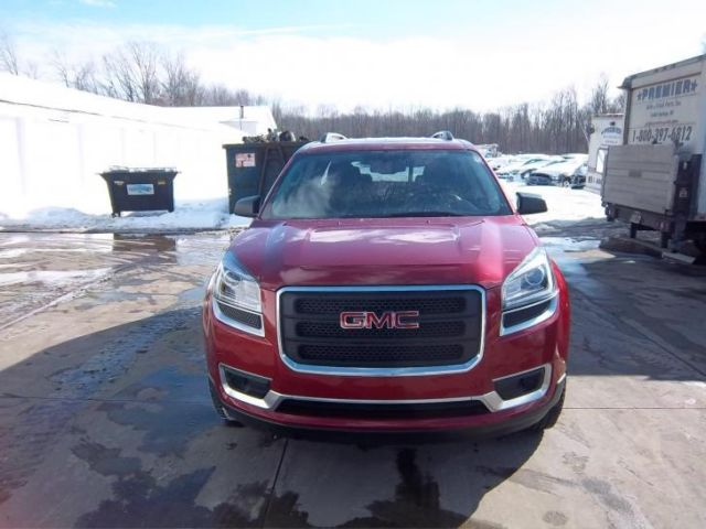 2014 gmc acadia sle 2 11k miles wrecked repairable rebuildable burgundy nice. Black Bedroom Furniture Sets. Home Design Ideas