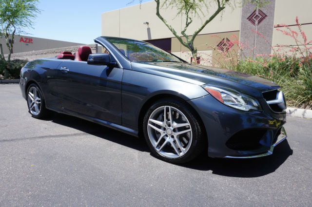 2014 gray convertible e class 1 owner az car like 2010 for 2012 mercedes benz e350 convertible