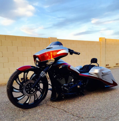 2014 harley street glide special custom bagger big wheel full air ride 219 miles. Black Bedroom Furniture Sets. Home Design Ideas