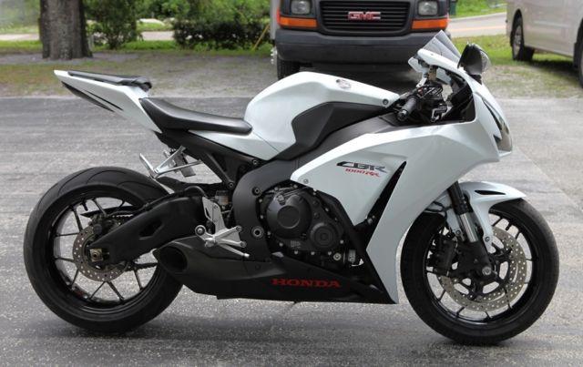 2014 Honda CBR1000RR Sport, Pearl White, Clean! Carbon ...