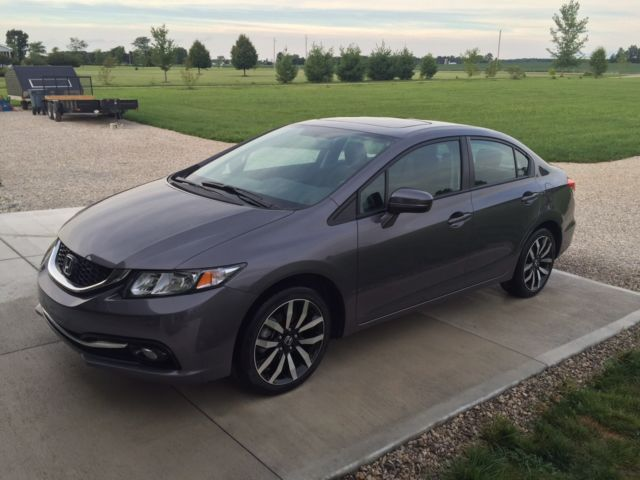 2014 honda civic sedan ex l with factory warranty for 2014 honda civic oil type