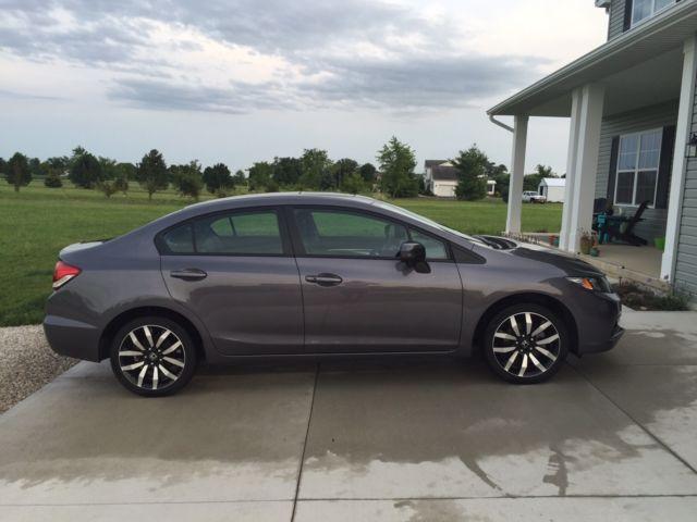 2014 honda civic sedan ex l with factory warranty for Honda factory warranty