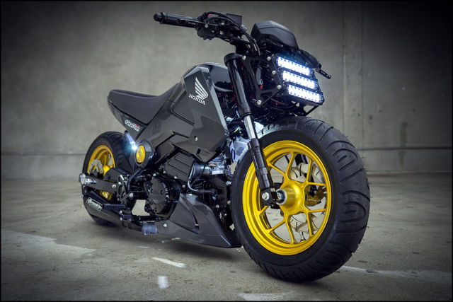 Build Your Own Honda Grom >> 2014 Honda GROM 125 - Featured at the SEMA Show in Las Vegas in the Honda Booth!