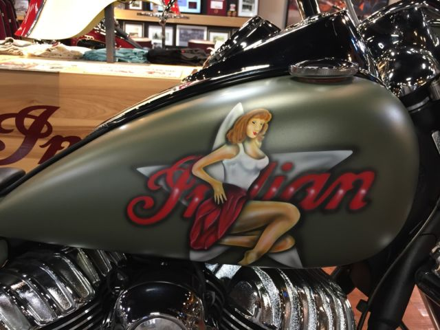 Custom Indian Motorcycle For Sale >> 2014 Indian Chief Vintage with dealer installed custom paint