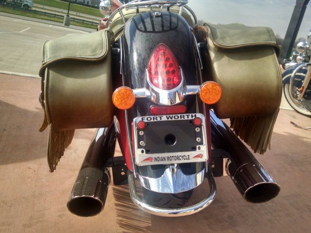 2014 Indian Chief Vintage With Windshield And Leather