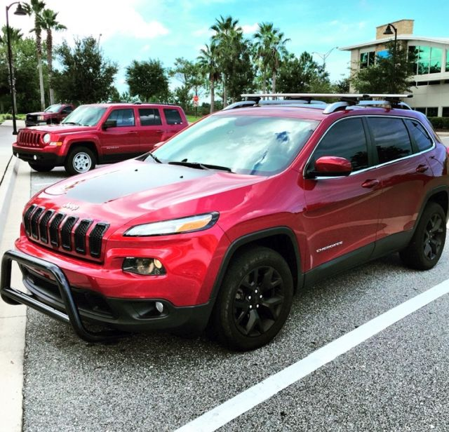 2014 Jeep Cherokee Latitude Sport Utility 4 Door 2 4l