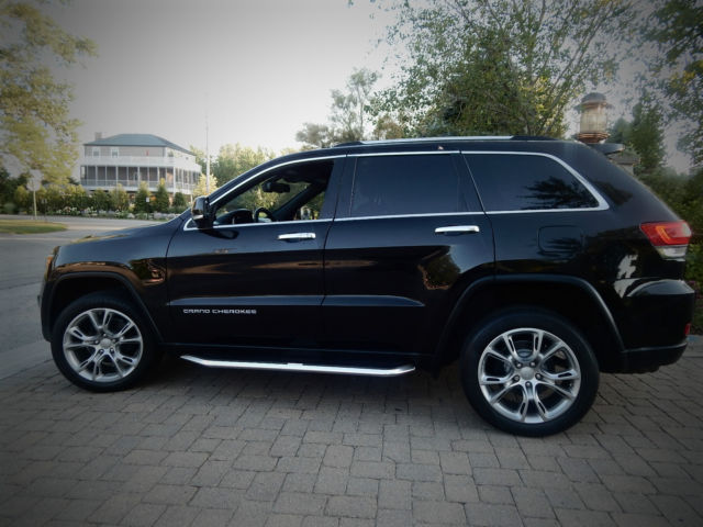 2014 Jeep Grand Cherokee Limited Edition Black SRT Wheels ...