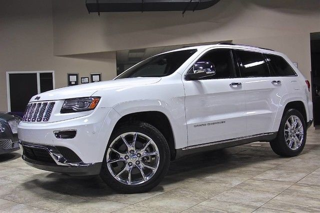 2014 jeep grand cherokee summit 4x4 suv 5 7l hemi v8 engine navigation loaded. Black Bedroom Furniture Sets. Home Design Ideas