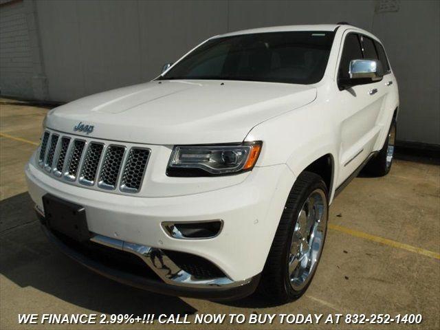 2014 Jeep Grand Cherokee Summit Automatic Navi 11k Miles Full Warranty