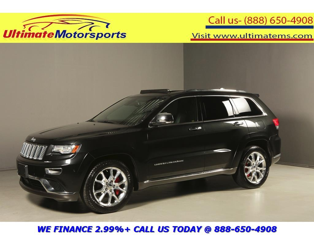 2014 Jeep Grand Cherokee Summit Nav Black Warranty 164462 Texas
