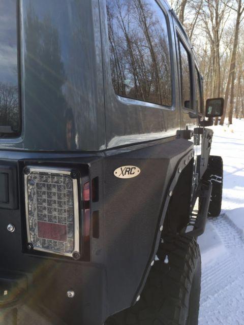 2014 Jeep Wrangler Unlimited Custom Sport Anvil Color 4 Door 4x4