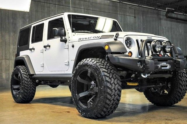 2014 Jeep Wrangler Unlimited Rubicon 6 4l Hemi 4 5in Lift