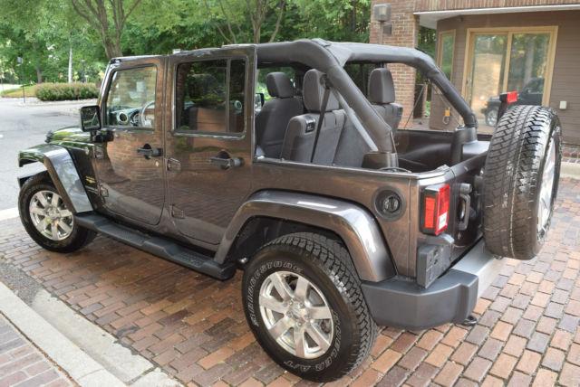 2014 jeep wrangler unlimited sahara suv 4 door 3 6l hard top convertible 18. Black Bedroom Furniture Sets. Home Design Ideas