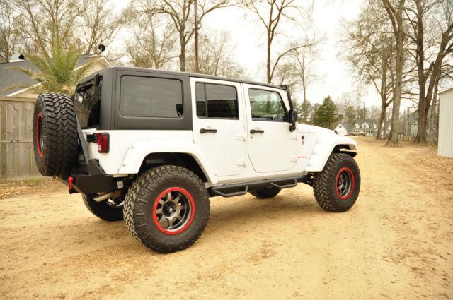 2014 Jeep Wrangler Unlimited Sport Suv 4x4 4 Door White