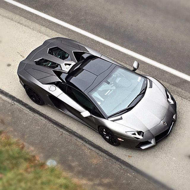 2014 Lamborghini Aventador Roadster Lp700 4 Matte Grey