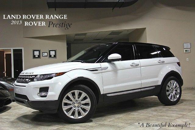 2014 Land Rover Range Rover Evoque Prestige SUV Adaptive Cruise