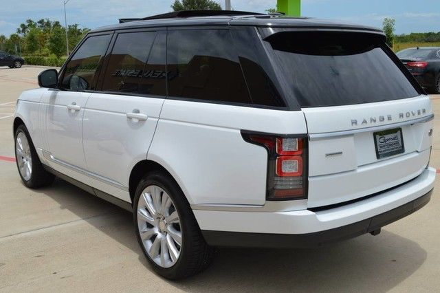 2014 Land Rover Range Rover Supercharged V8 Carfax