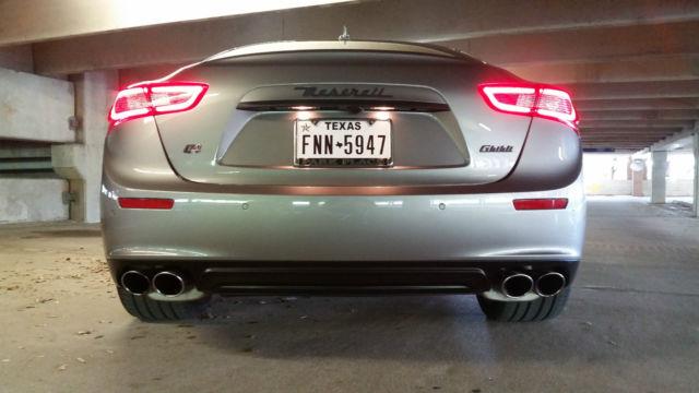 2014 Maserati Ghibli S Q4 Sedan 3 0l Twin Turbo Awd 91k Msrp
